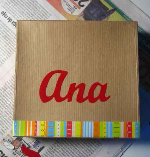 Tutorial para forrar cajas para regalo | Bueno, bonito y barato