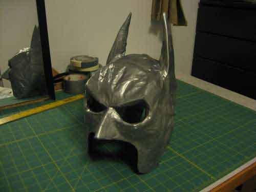 Tutorial máscara Dark Knight | Bueno, bonito y barato