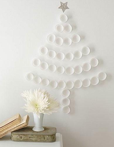 Adornos navide os un rbol de papel bueno bonito y barato for Adornos navidenos de papel