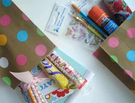 como hacer bolsas sorpresa para los niños | Bueno, bonito y barato