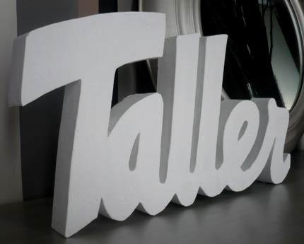 Tutorial c mo hacer letras decorativas bueno bonito y - Como hacer letras decorativas ...