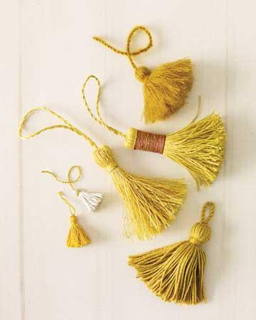 Como hacer borlas de hilo bueno bonito y barato - Como hacer borlas de hilo ...
