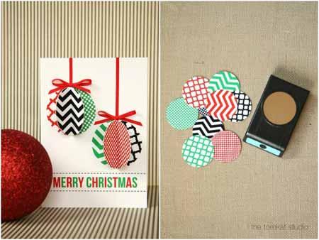 la - Tarjeta De Navidad En 3d
