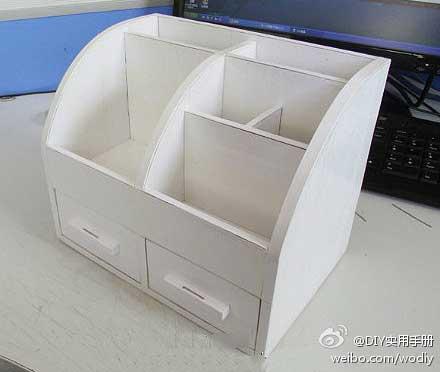 DIY organizador de escritorio