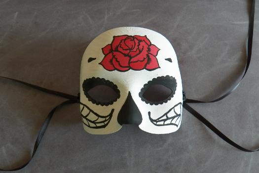 tutorial máscara dia de los muertos
