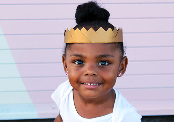 tutorial corona de princesa con cartulina