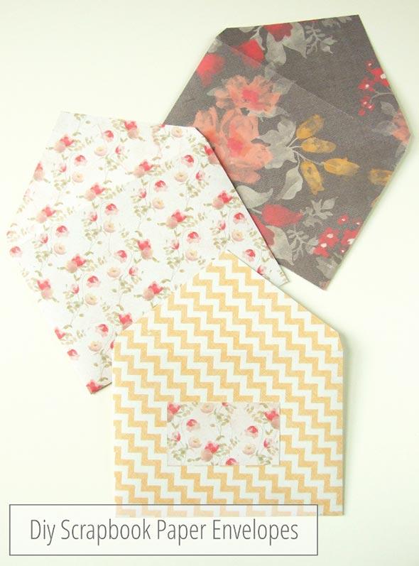 Gathering Beauty: Cómo hacer sobres de papel