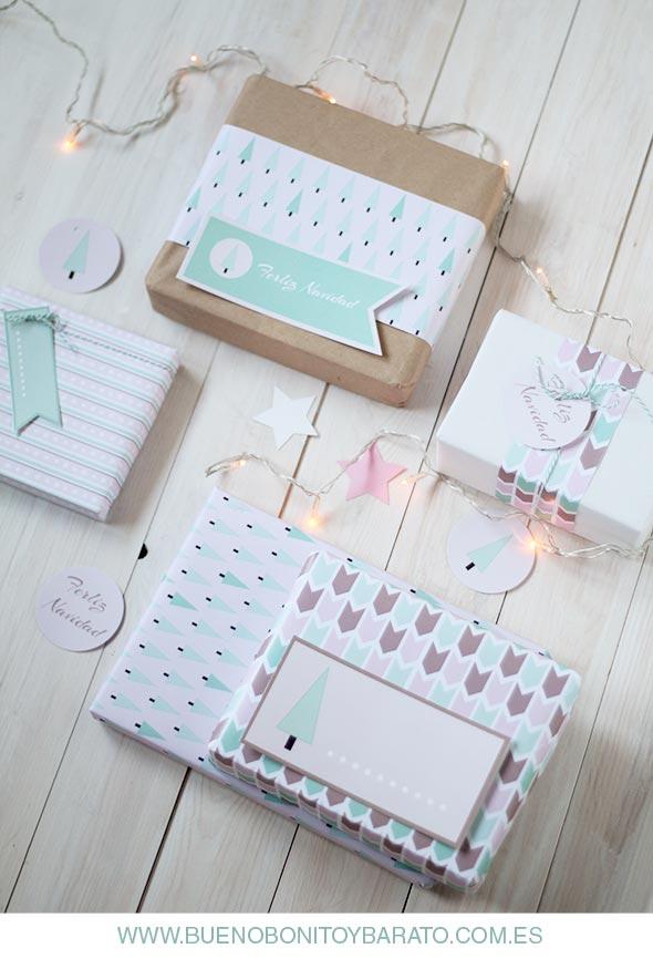 Papeles bonitos para empaquetar regalos. Descarga gratuita
