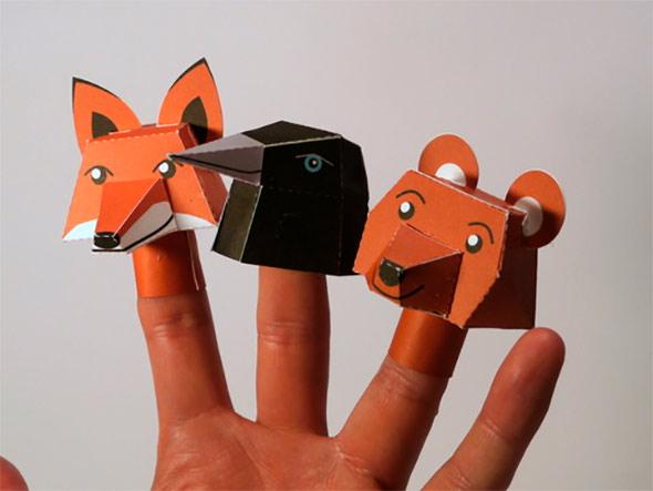 Marionetas-dedo